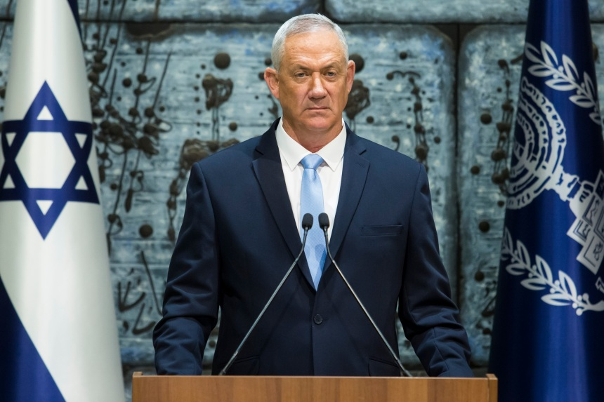 Israël: Gantz, rival de Netanyahu, chargé de former un gouvernement
