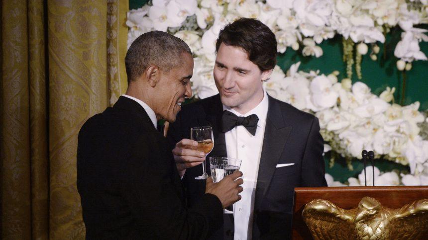 Barack Obama appuie Justin Trudeau pour les élections