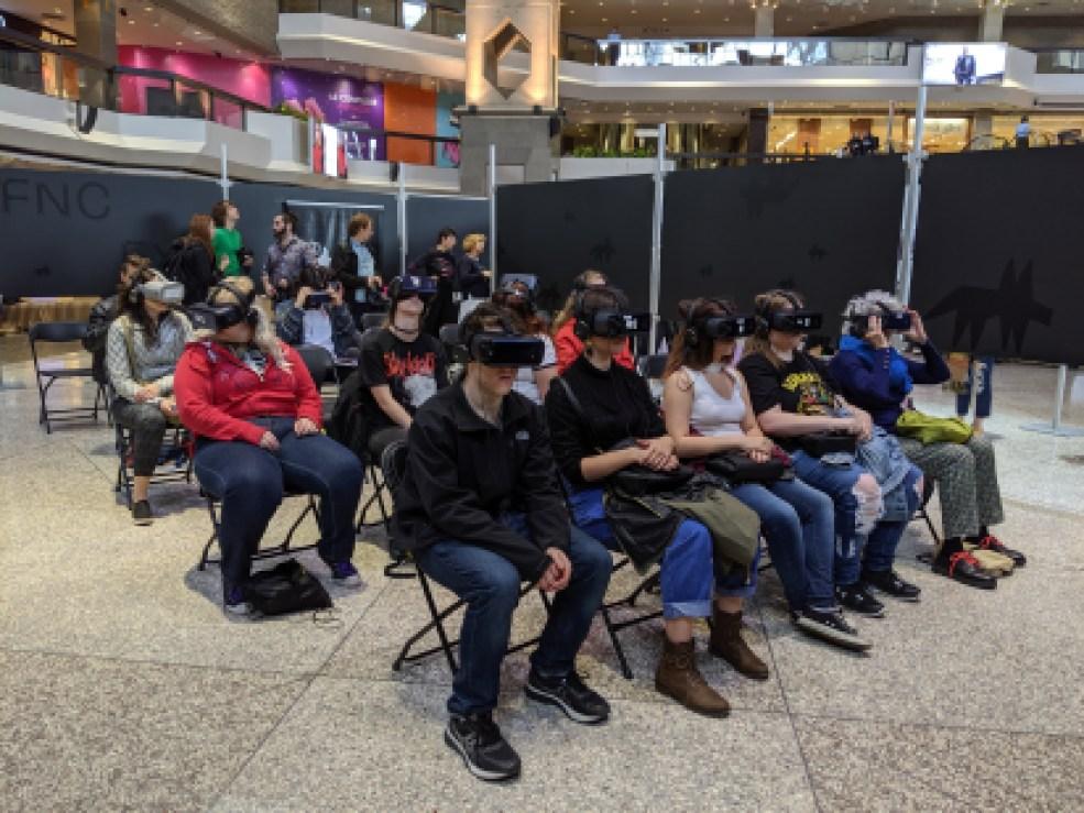 Cinéma en réalité virtuelle au Complexe Desjardins