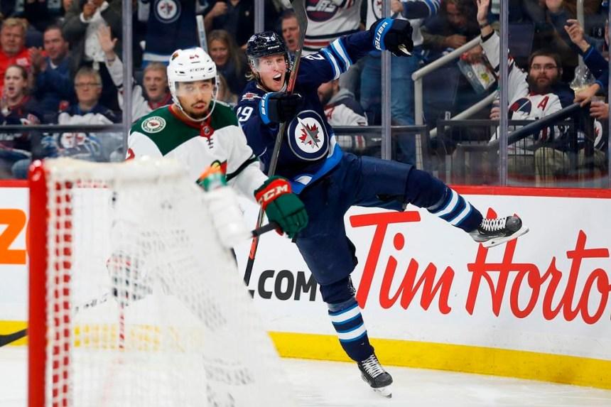 Patrik Laine amasse quatre points dans la victoire des Jets face au Wild