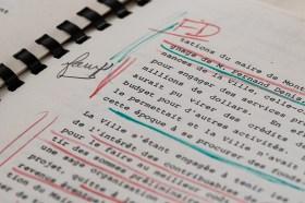 «Faux», écrit Jean-Drapeau sur une copie du rapport Malouf.