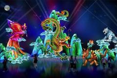 Un festival de lanternes chinoises s'installe à Montréal
