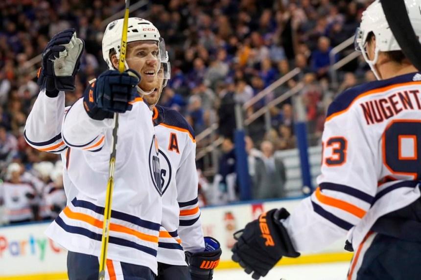 Le centre Connor McDavid des Oilers obtient la première étoile dans la LNH