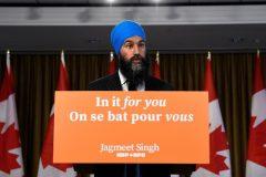 Jagmeet Singh promet de continuer d'être présent au Québec