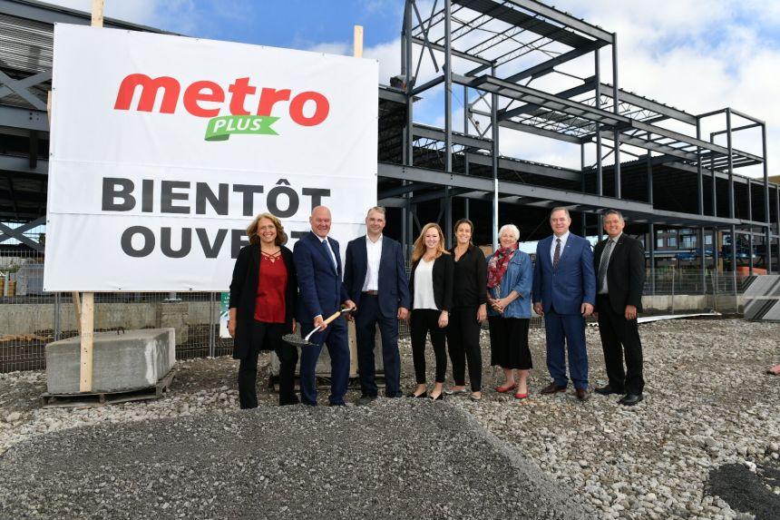Nouvelle épicerie Metro Plus dans l'arrondissement de Lachine