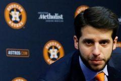 Les Astros de Houston congédient le directeur général adjoint Brandon Taubman