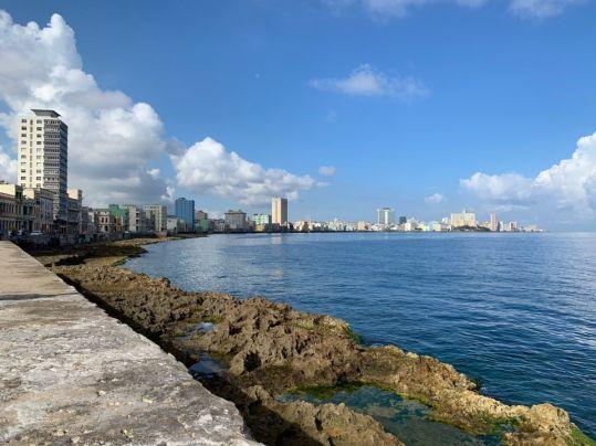 Le Malecón à La Havane
