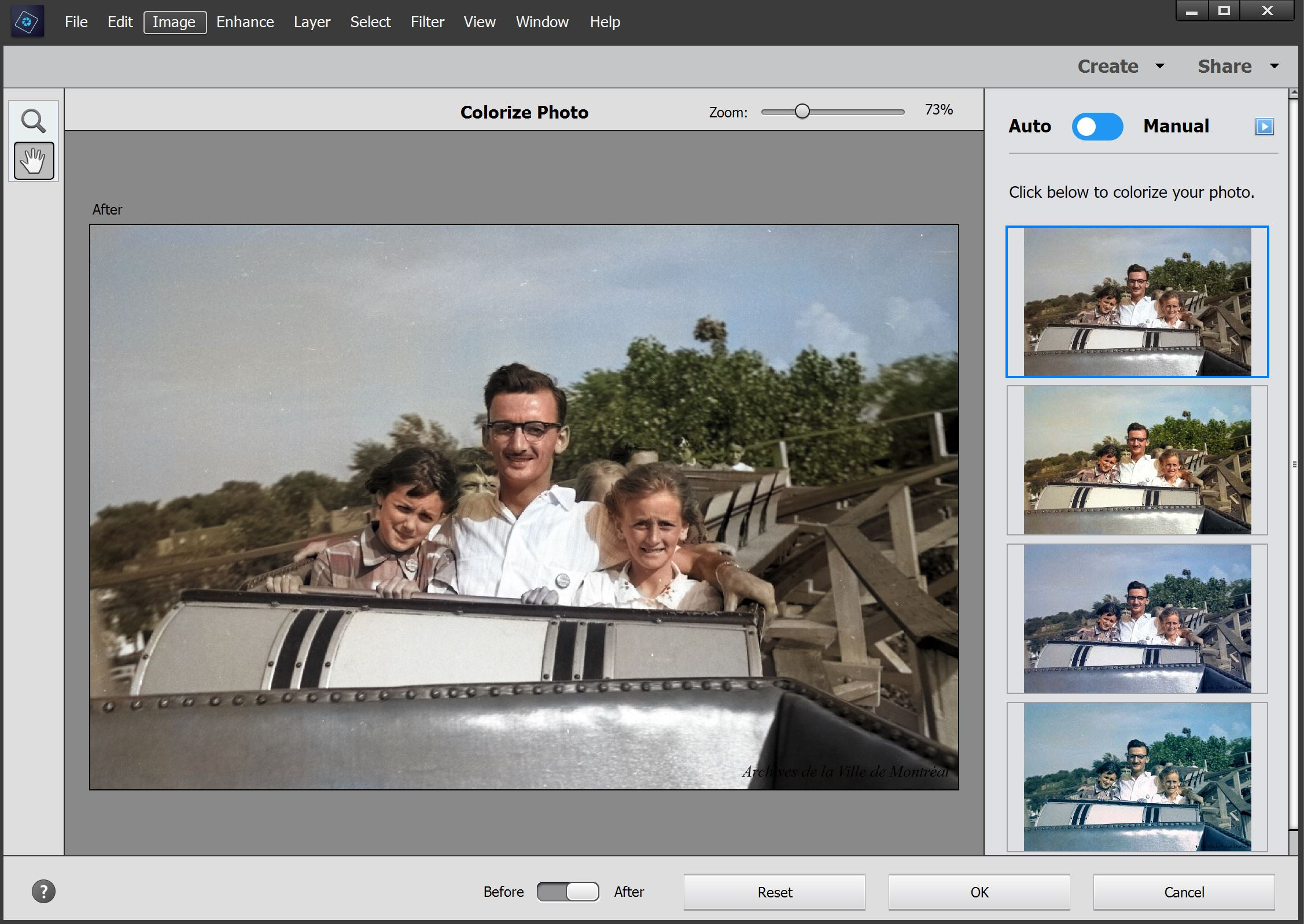 Photoshop Elements 2020 Jai Vu Mon Grand Père En Couleur