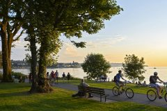 Dans les zones urbaines, les espaces verts améliorent le moral des citadins