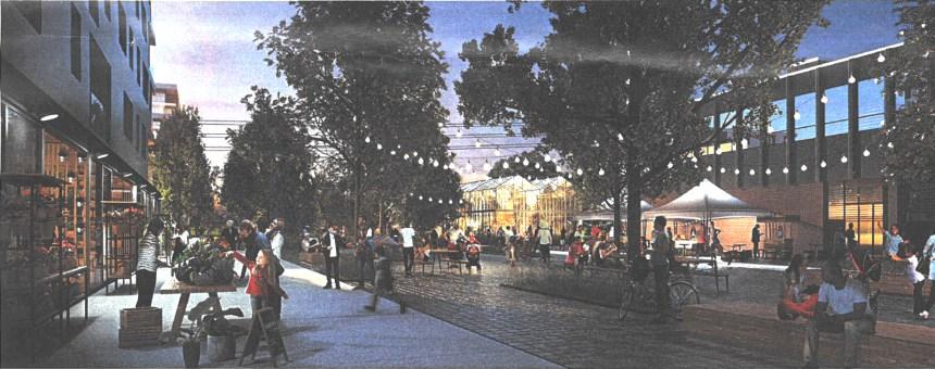 Premier plan d'aménagement pour Louvain Est