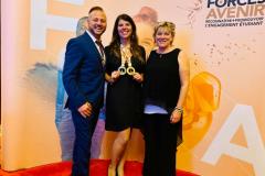 Une enseignante récompensée au gala Forces Avenir