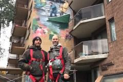 Une nouvelle murale à Verdun