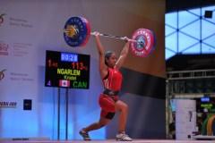L'haltérophile Kristel Ngarlem vise les Olympiques