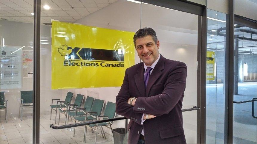 Raymond Ayas, candidat du Parti populaire du Canada à Ahuntsic-Cartierville