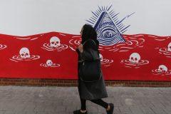 L'Iran dévoile de nouvelles fresques antiaméricaines