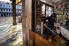 L'état de catastrophe naturelle décrété pour Venise