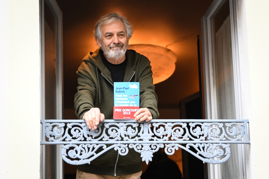 Le prix Goncourt 2019 est remis à Jean-Paul Dubois