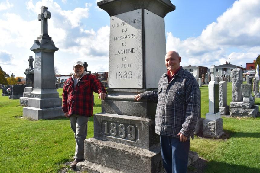 Fossoyeur depuis plus de 40 ans au cimetière catholique de Lachine