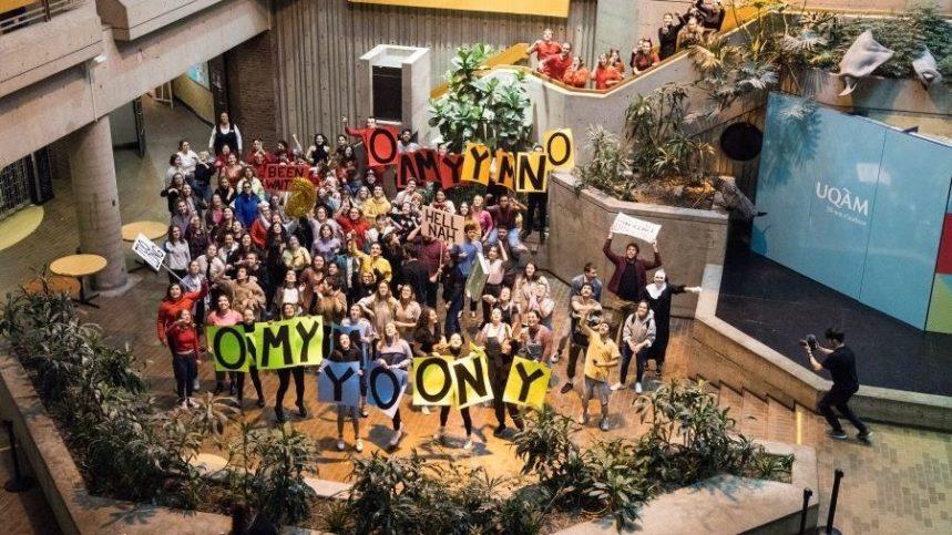 50 ans de l'UQAM: des étudiants recréent le lipdub mythique de 2009