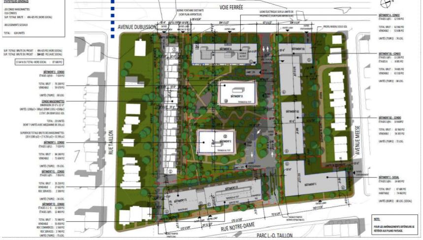 Projet immobilier sur l'ancien site de l'entrepôt Métro «approuvé par les personnes habiles à voter»