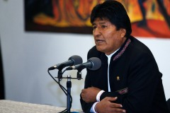 Bolivie: Evo Morales dans un avion pour le Mexique