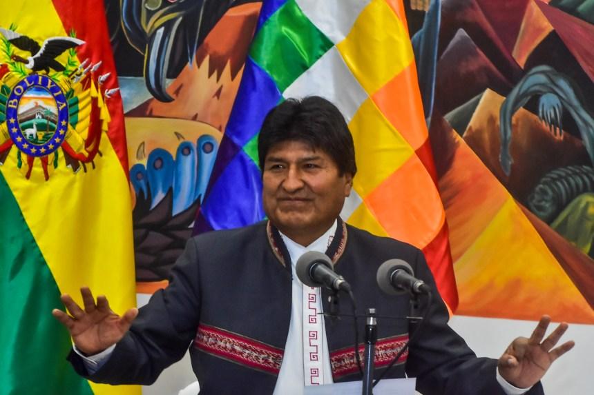 Morales, le plus ancien président d'Amérique latine, chassé par la rue