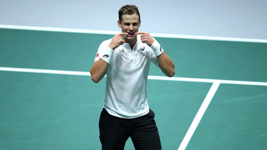 Le Canada se qualifie pour les quarts de finale de la Coupe Davis