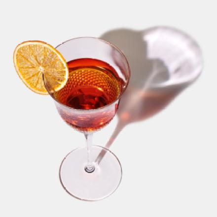 Cocktail Ginger manhattan