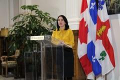 Valérie Plante accueille favorablement le nouveau conseil des ministres à Ottawa