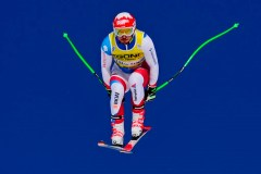 Veteran Janka leads 1st training for World Cup downhill