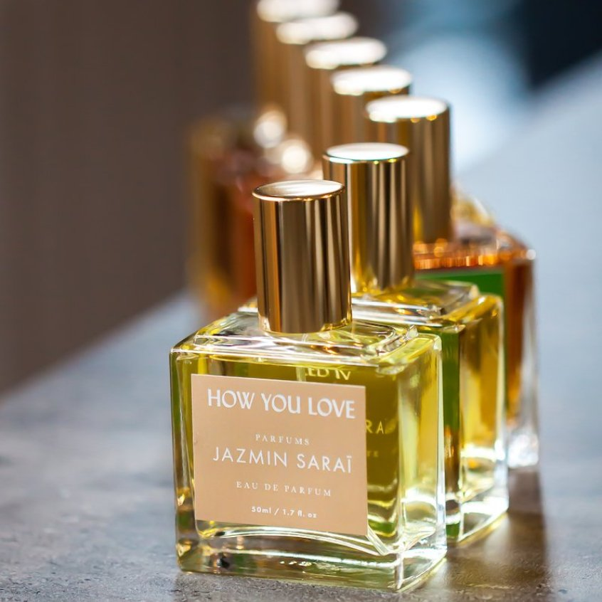 Les parfums Jazmin Saraï