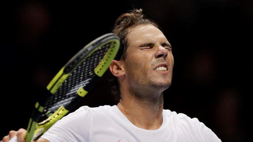 Nadal sauve une balle de match et signe sa 1ère victoire aux Finales de l'ATP