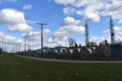 Début des travaux de la nouvelle ligne électrique