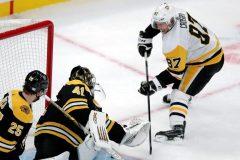 Crosby n'a pas accompagné ses coéquipiers pour le match contre les Rangers