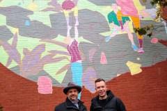 Inauguration de la 11e murale dans le Sud-Ouest de Montréal
