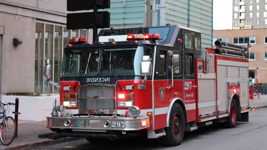 Coupure de courant à cause d'un incendie à Pointe-Saint-Charles