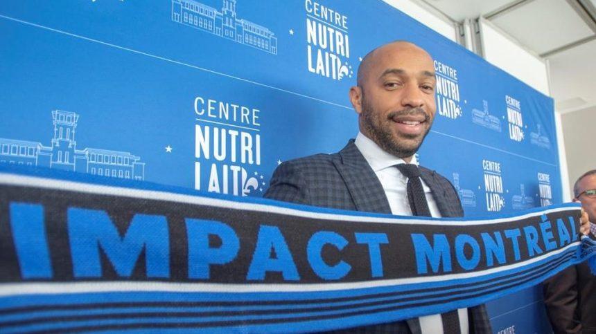 Thierry Henry voit sa nomination à la barre de l'Impact comme un nouveau départ