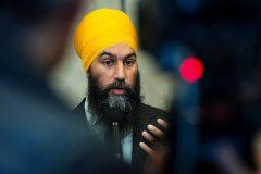 Le Bloc québécois ignoré par Jagmeet Singh et attaqué par Andrew Scheer