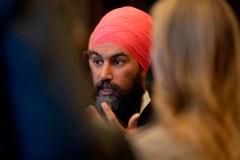Singh se dit prêt à voter contre le discours du Trône si des enjeux sont ignorés