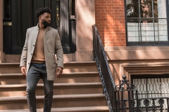 Mode automnale pour hommes : inspiration football