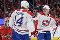 Le Canadien marque quatre fois en 2e période et bat les Capitals 5-2