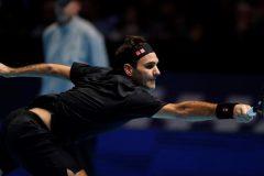Roger Federer obtient sa première victoire aux Finales de l'ATP à Londres