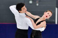Médaille d'or au championnat québécois de patinage artistique