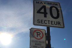 Interdiction de stationnement levée dans certaines zones