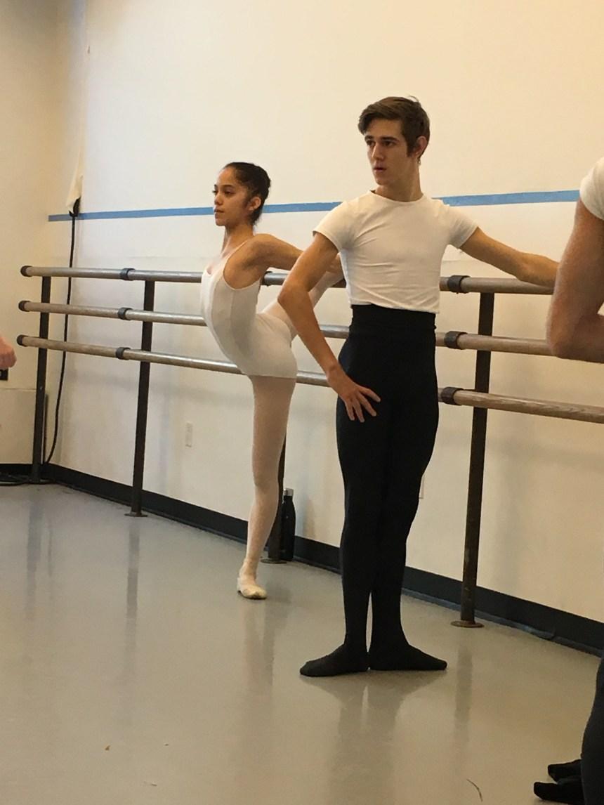 Défis d'un jeune danseur à New York