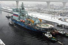 La Russie achève le premier essai de son brise-glace le plus puissant