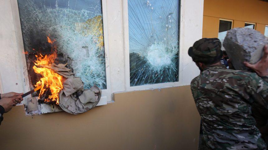 Irak: Washington envoie des renforts après l'attaque de son ambassade