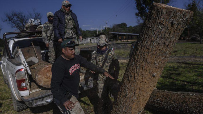 Mexique: la révolte «écologique» des Indigènes de Cheran