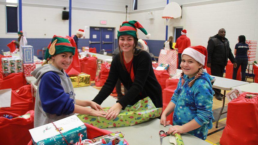 Préparation d'un Noël magique pour des élèves nord-montréalais