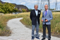 Un parc de Saint-Léonard rend hommage à un journaliste d'origine italienne